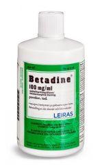 BETADINE 100 mg/ml paikallisantiseptiliuos 250 ml